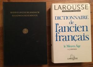 Twee woordenboeken over Middeleeuwse taal
