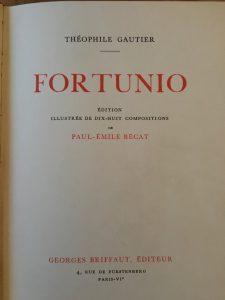 Fortunio - titelpagina